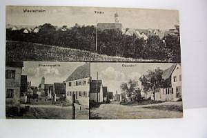 Westerheim um 1920
