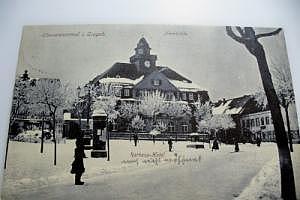 Oberwiesenthal im Erzgebirge Marktplatz um 1915