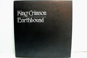 "King Crimson ""Earthbound"" Digipak"