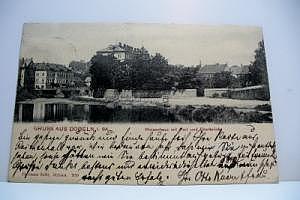 Döbeln in Sachsen  Waisenhaus um 1905