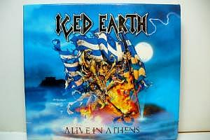 "Iced Earth ""Alive in Athens"" 3 CDs"