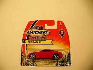 Matchbox Nr. 62 Nissan Z in rot, selten!