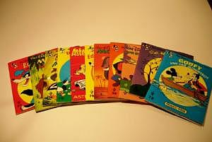 Pestalozzi-Verlag 10x Disney um 1970