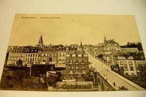 Saargemünd Neunkircherstraße um 1916