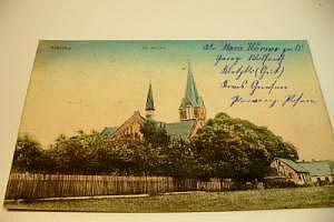 Kletzko Evangelische Kirche um 1915