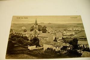 Hahn, Gruß aus  um 1920