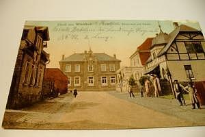 6501 Wörrstadt Finanzamt und Schule um 1914