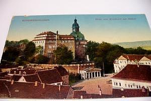 Sondershausen, Blick vom Kirchturm um 1915