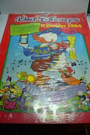 Walt Disneys Kalender 1984 OVP