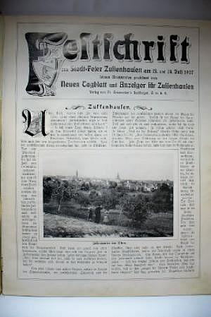 Festschrift zur Stadtfeier Zuffenhausen 13. und 14. Juli 1907