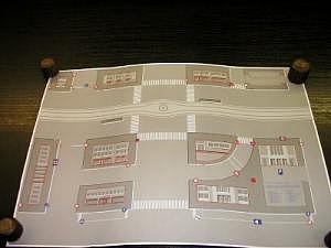 Straßenplan I passend zu Wiking N-Modellen