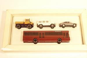 Mercedes-Benz Set 80er Jahre mit 4 Modellen