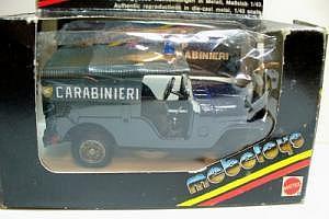 Jeep Carabinieri von Mattel Mebetoys