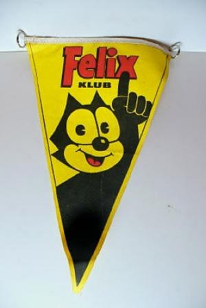 Felix Klub Wimpel 60er Jahre