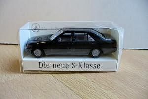 """Mercedes-Benz Werbemodell """"Die neue S-Klasse"""""""