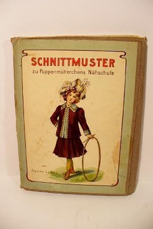 Puppenmütterchens Nähschule mit Schnittmustern, Original