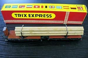 Trix Express Nr. 3443 Langholzwagen