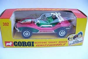 "Corgi 392 Bertone ""Shake Buggy"""