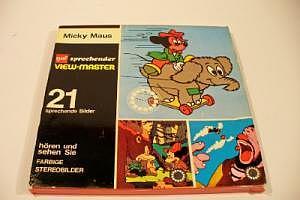 """View-Master 21 sprechende Bilder """"Micky Maus"""""""