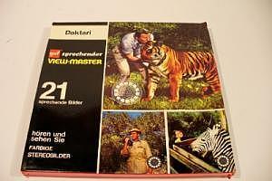 """View-Master 21 sprechende Bilder """"Daktari"""""""