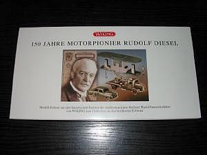 """990 59 50 Sonderset """"150 Jahre Rudolf Diesel"""""""