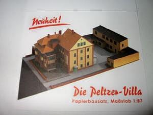Villa-Peltzer Bastelbogen in 1:87